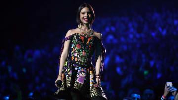 Angela Aguilar es una reconocida cantante mexicana de 17 años