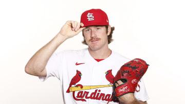 Miles Mikolas, St Louis Cardinals Photo Day