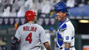 Yadier Molina y Salvador Pérez son dos de los mejores receptores de la MLB
