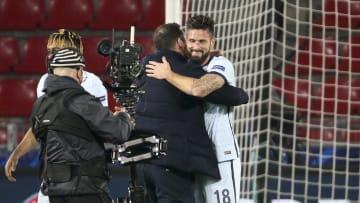 Olivier Giroud, Frank Lampard