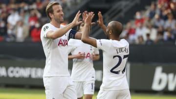 Tottenham are preparing to take on Chelsea