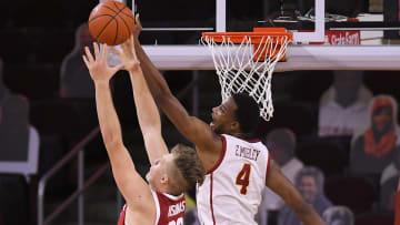 USC basketball star Evan Mobley.