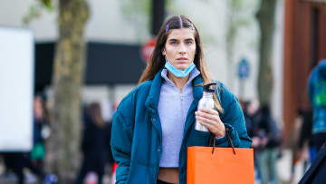 Street Style At Paris Fashion Week - Womenswear Spring Summer 2021 : Day Six