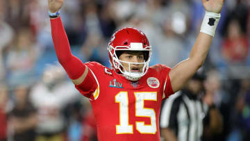 Super Bowl 55 any time TD scorer prop has Travis Kelce and Tyreek Hill as favorites.