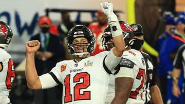 Tom Brady ganó el campeonato de la NFL en 2021 con los Buccaneers