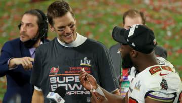 Brady tiene siete anillos de campeón de la NFL en su carrera