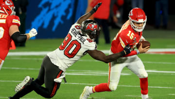 The Kansas City Chiefs and Tampa Bay Buccaneers are the favorites in the odds to win Super Bowl LVI as preseason begins.