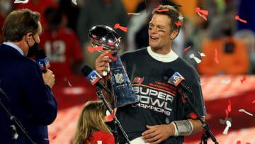 Brady sumó su quinto MVP del Super Bowl con 43 años