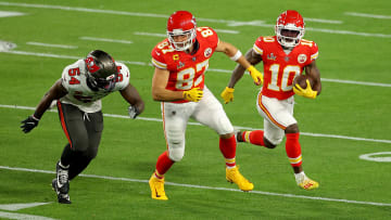 Tyreek Hill and Travis Kelce are going to need help in 2021.