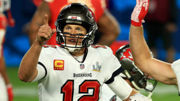 Super Bowl 55 MVP award goes to Tom Brady of the Tampa Bay Buccaneers.