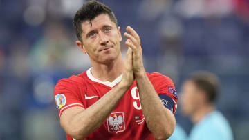 Polônia, de Lewandowski, foi eliminada da Euro 2021.