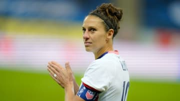 Carli Lloyd has played her 300th game for the USWNT