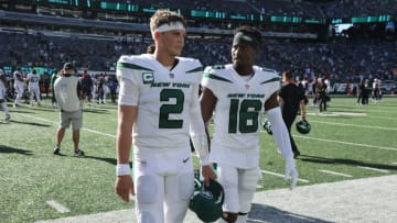 Zach Wilson and the Jets could be a team to bet on in Week 3. | Chris Pedota, NorthJersey.com via Imagn