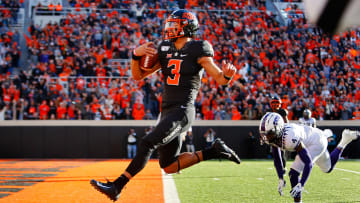 Spencer Sanders is set to enter his third season as the starting QB for Oklahoma State.