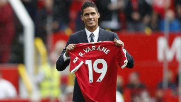 Raphael Varane has joined Man Utd