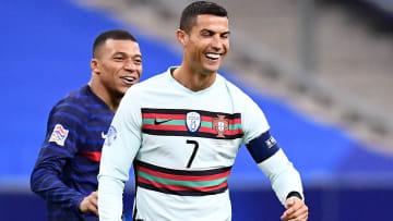 Kylian Mbappe has hailed Cristiano Ronaldo as his idol growing up