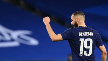 Karim Benzema earned his first cap in six years against Wales