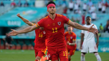 Kieffer Moore secured Wales a point in their Euro 2020 opener