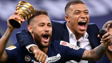 Kylian Mbappé, Neymar