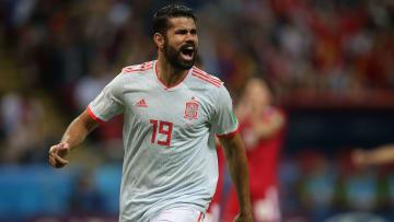 Reforço do Atlético-MG, Diego Costa defendeu a Espanha na Copa do Mundo de 2014.
