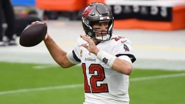 Brady está en su primera temporada con los Buccaneers en la NFL
