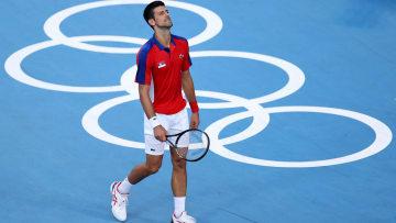 La frustración de Novak Djokovic por la derrota y la exigencia de los Juegos Olímpicos