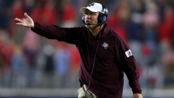 Texas A&M head coach Jimbo Fisher