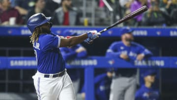 Vladimir Guerrero Jr. has a chance at one of the most rare feats in Major League Baseball: the Triple Crown.