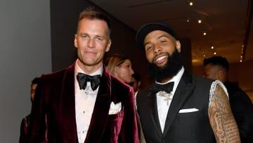 Tom Brady y Odell Beckham Jr. tienen una buena amistad