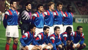 Malgré un statut de favori, les Bleus ont déçu à l'Euro 92