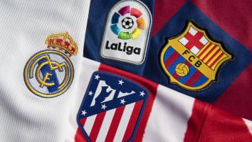 La Liga ve İspanya'nın 3 büyük takımının logosu
