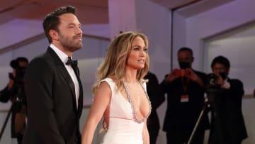 Ben Affleck y Jennifer López disfrutaron del Festival de Venecia