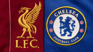 The Liverpool and Chelsea Club Crests