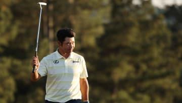 Hideki Matsuyama conservó la punta del Masters de Augusta en una intensa jornada dominical