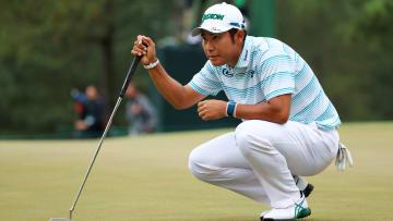 Odds to win The Masters heavily favor Hideki Matsuyama.