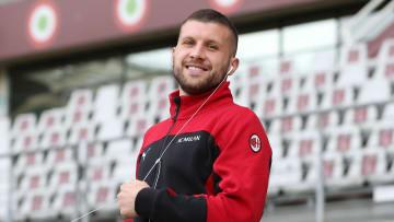Ante Rebic, autore di una tripletta contro il Torino