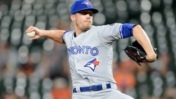 Toronto Blue Jays relief pitcher Ken Giles
