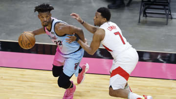 Kyle Lowry and Jimmy Butler