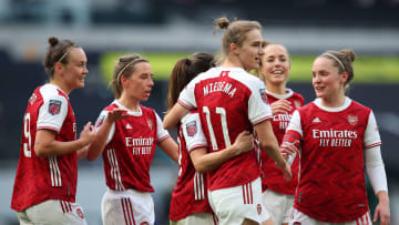 Arsenal Women hammered their rivals in the North London derby