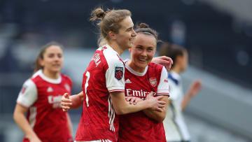 Arsenal é um dos grandes times do futebol feminino europeu