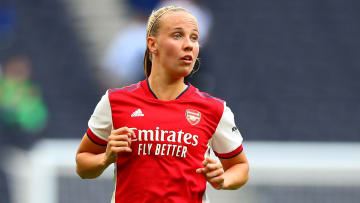 Beth Mead scored one of Arsenal's goals against Okzhetpes from Kazakhstan