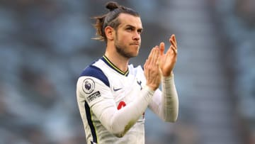 Gareth Bale spent the 2020/21 season on loan at Tottenham from Real Madrid
