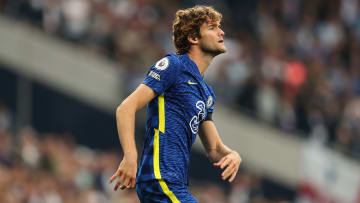 Marcos Alonso has stopped taking the knee