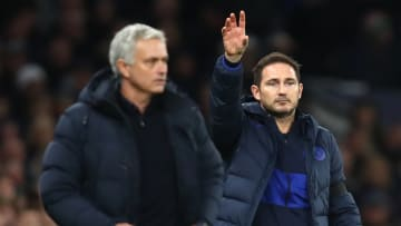 Lampard's Chelsea beat Mourinho's Tottenham twice last season