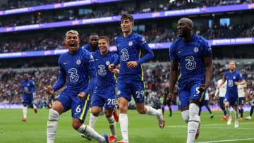 Chelsea, along with Liverpool and Manchester United stand at the top of the Premier League standings with 13 points.   Catherine Ivill/Getty Images