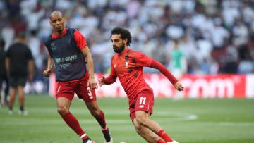 Fabinho,Mohamed Salah
