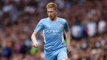 De Bruyne has made a solitary substitute appearances this season