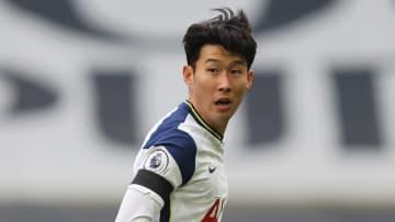 Son opened the scoring against Man Utd