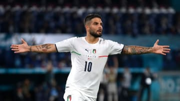 Insigne was the star of the show on the left