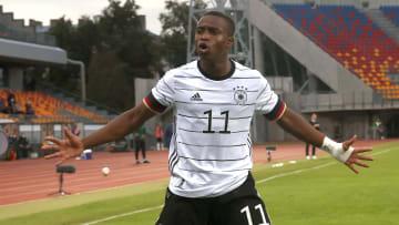 Auch gegen Litauen konnte Youssoufa Moukoko für die U21 treffen